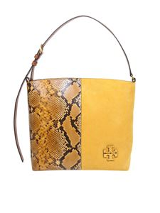 Tory Burch - Mcgraw Exotic Hobo bag in yellow