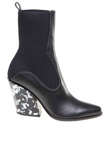 Jimmy Choo - Mele 85 ankle boots in black