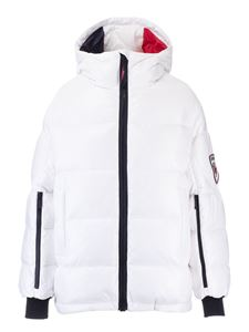 Rossignol - Padded oversized jacket in white