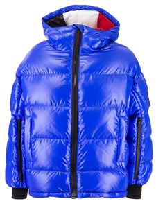 Rossignol - Padded oversize jacket in blue