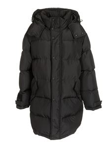 MSGM - Long down jacket in black