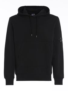 CP Company - Google detail hoodie in black