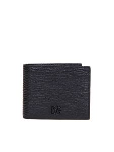 Dolce & Gabbana - DG logo wallet in black