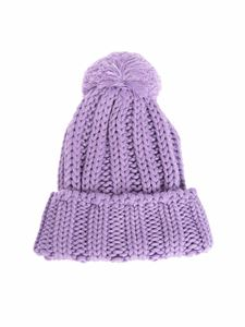 MSGM - Knitted beanie in violet