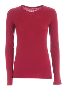 Majestic Filatures - Long sleeve T-shirt in red