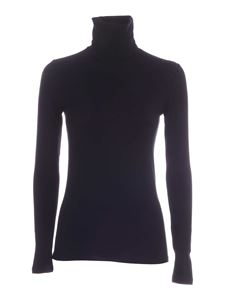 Majestic Filatures - Amy long sleeves T-shirt in black