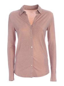 Majestic Filatures - Soft touch shirt in beige