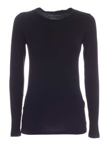 Majestic Filatures - Ally long sleeves T-shirt in black