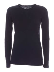 Majestic Filatures - Carly long sleeves T-shirt in  black