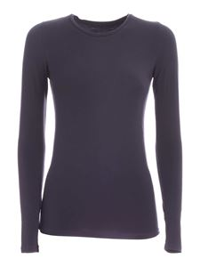 Majestic Filatures - Ally long sleeve T-shirt in grey