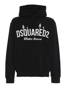 Dsquared2 - Winter Season sweatshirt in black