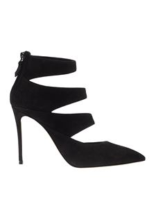 Casadei - Wrapped pumps in black