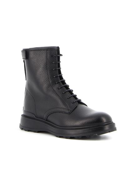 Woolrich - Lace-up ankle boots in black