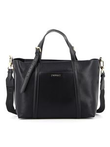 Twin-Set - Tote in similpelle nera