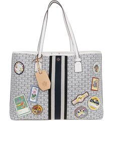 Tory Burch - Gemini small tote in grey
