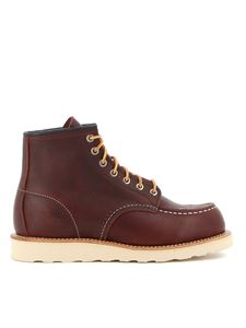 Red Wing shoes - 6-Inch Classic Moc ankle boots in brown
