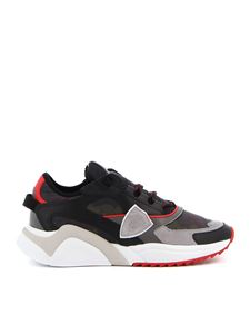 Philippe Model - Sneakers Eze Camouflage nero