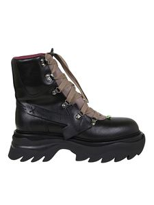 Off-White - Equipment boots in grey