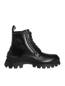 Dsquared2 - Lug Sole ankle boots in black