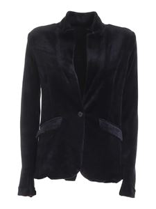 Majestic Filatures - Single-breasted jacket in black