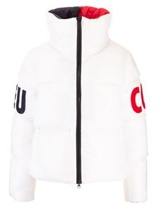 Rossignol - High collar downjacket in white