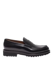 Doucal's - Penny bar loafers in black