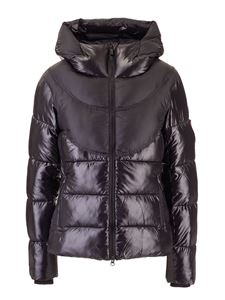 Rossignol - Hooded padded jacket in black