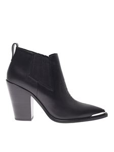 Ash - Bonnie ankle boots in black