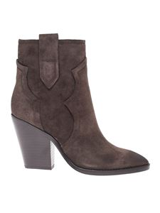 Ash - Esquire ankle boots in dark brown