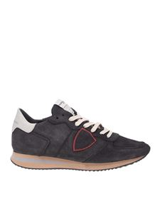 Philippe Model - Sneakers Trpx in nubuck nero