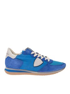 Philippe Model - Sneakers Trpx Vintage bluette