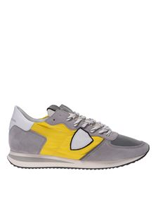 Philippe Model - Sneakers Trpx grigie e gialle