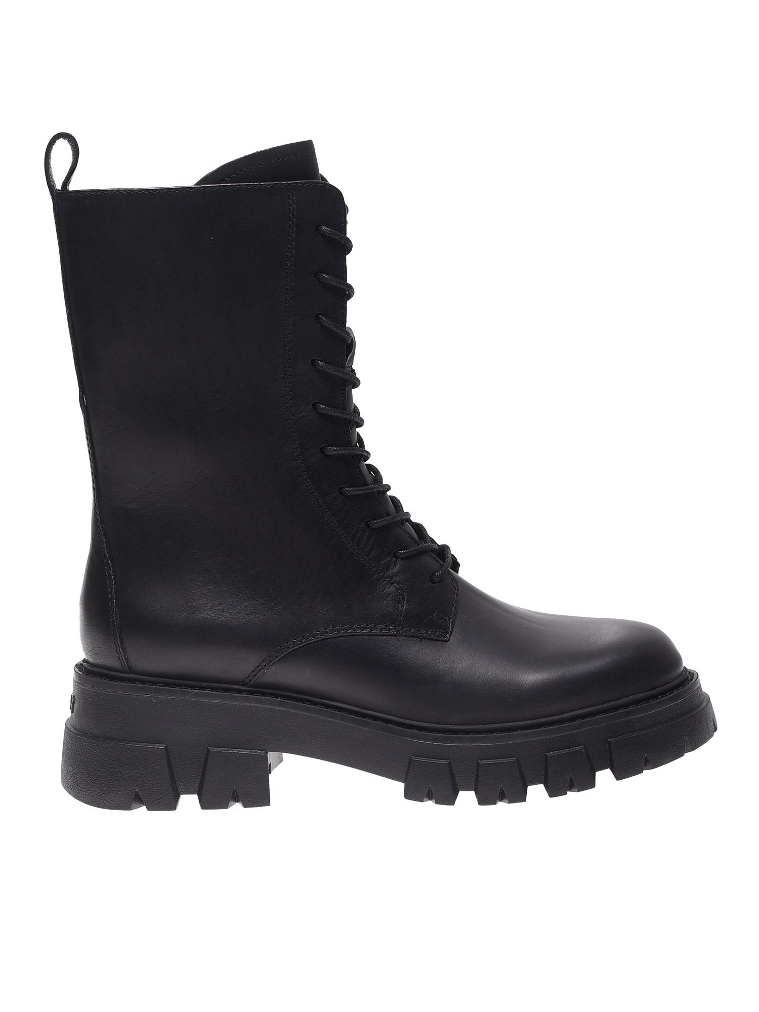 Ash LIAM ANKLE BOOTS IN BLACK