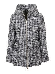 Herno - Wool blend puffer jacket in grey