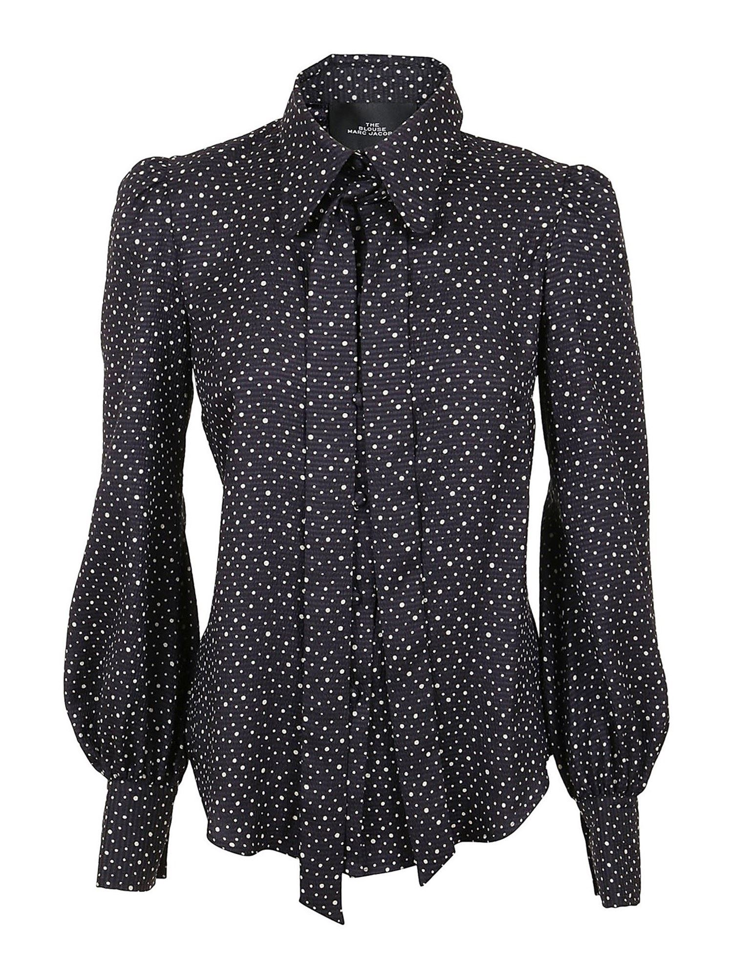 Marc Jacobs THE BLOUSE SHIRT IN BLUE