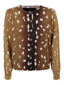 Marc Jacobs  - The Printed cardigan in brown