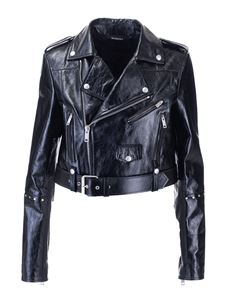 Givenchy - Biker jacket with studs in black