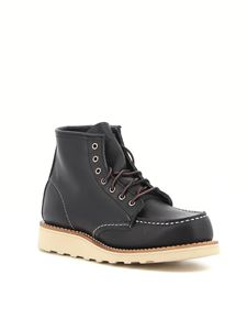 Red Wing shoes - 6-Inch Classic Moc ankle boots in black