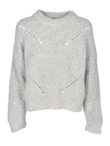Roberto Collina - Drilled details pullover in grey
