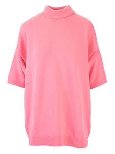 Givenchy - T-shirt in cashmere oversize rosa
