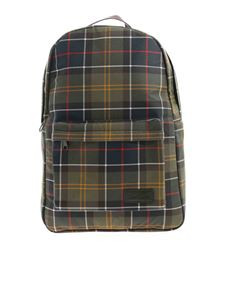 Barbour - Torridon multicolor check print backpack