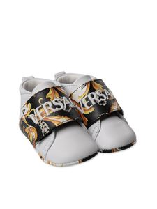 Versace Young - Baby shoes in white