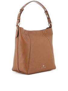 Michael Kors - Borsa a spalla media Lucy marrone