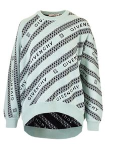 Givenchy - Chaîne pullover in light green