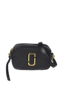 Marc Jacobs  - The Softshot 17 cross body bag in black