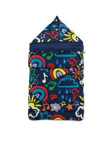 Stella McCartney Kids - Printed sleeping bag in blue
