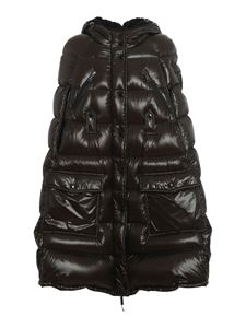 Moncler - Congloue cape in green