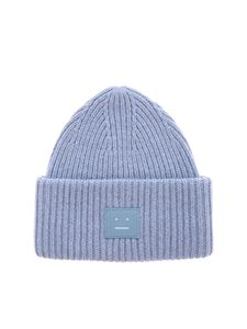 Acne Studios - Pansy N Face beanie in light blue