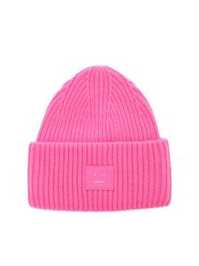 Acne Studios - Pansy N Face beanie in pink