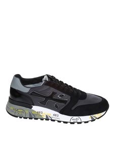 Premiata - MICK sneakers in suede in black
